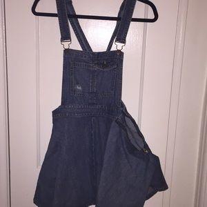 Dresses & Skirts - Overall Mini Dress